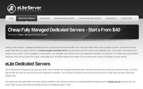 cheap cpanel dedicated servers